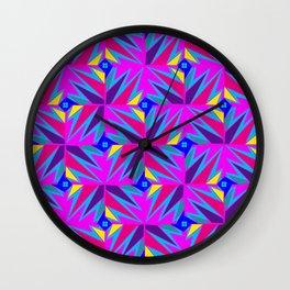 Retro Rosemary Pink Wall Clock