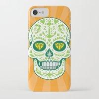 calavera iPhone & iPod Cases featuring Calavera by courtney2k ⚓ design™
