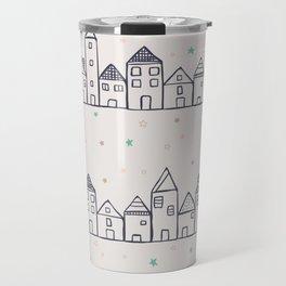 Neighborhood Houses Travel Mug