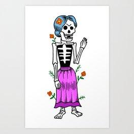 La novia Art Print