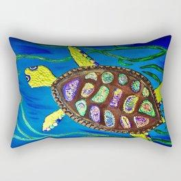 Centellita the Sea Turtle Rectangular Pillow