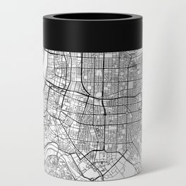 Taipei White Map Can Cooler