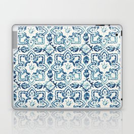 Azulejo IV - Portuguese hand painted tiles Laptop & iPad Skin