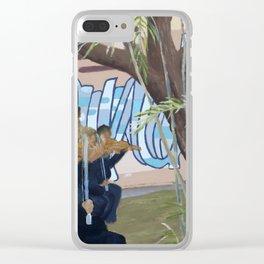 Alexandria 3 Clear iPhone Case
