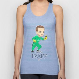 Kevin the Goalkeeper Unisex Tank Top