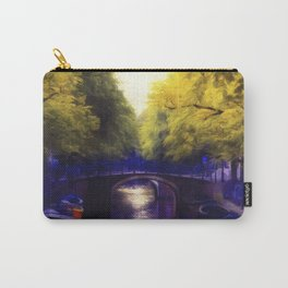 A small bridge Carry-All Pouch