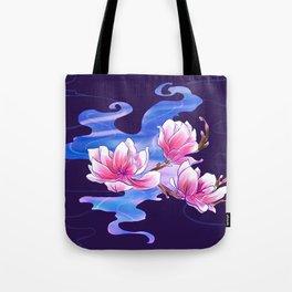 Magnolia night Tote Bag