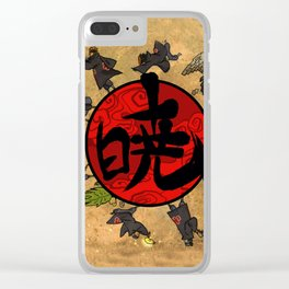 akatsuki Clear iPhone Case