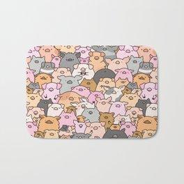 Pigs, Piglets & A Swine! Bath Mat