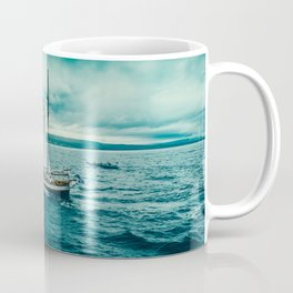 Whale spotting Iceland Coffee Mug