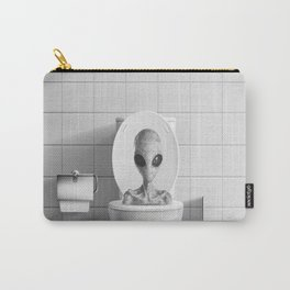 Aliens in the Toilet ! Carry-All Pouch