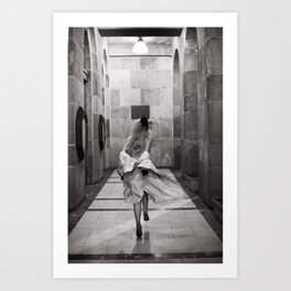 Exhibitionist I Art Print