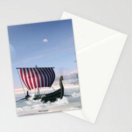 Wonderful longboat, vikking ship Stationery Cards