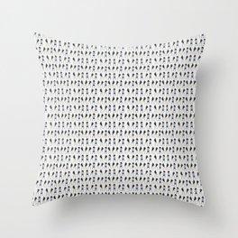 Single Ladies Throw Pillow