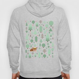 The deer in the summer forest Hoody