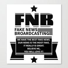 Fake News Canvas Print