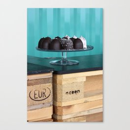 Sweets on a tray Canvas Print