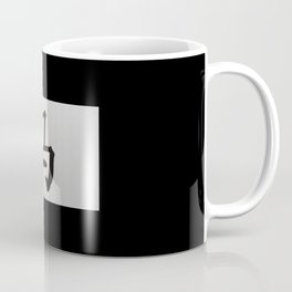 Chinese zodiac sign Horse black Coffee Mug