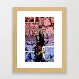 All Might, Symbol of Peace! Framed Art Print