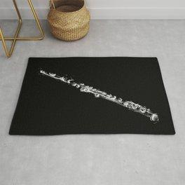 Black Flute  Rug