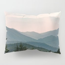 Smoky Mountain Pastel Sunset Pillow Sham
