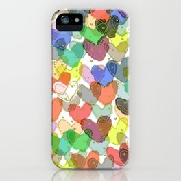 Strong Love iPhone Case
