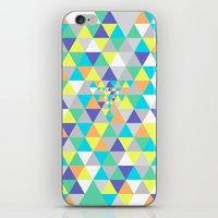 psycho iPhone & iPod Skins featuring Psycho by Javier Martinez