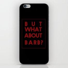 Barb:Stranger Things iPhone Skin