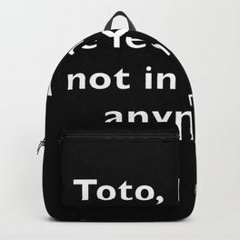 The Wizard of ... Quote Backpack