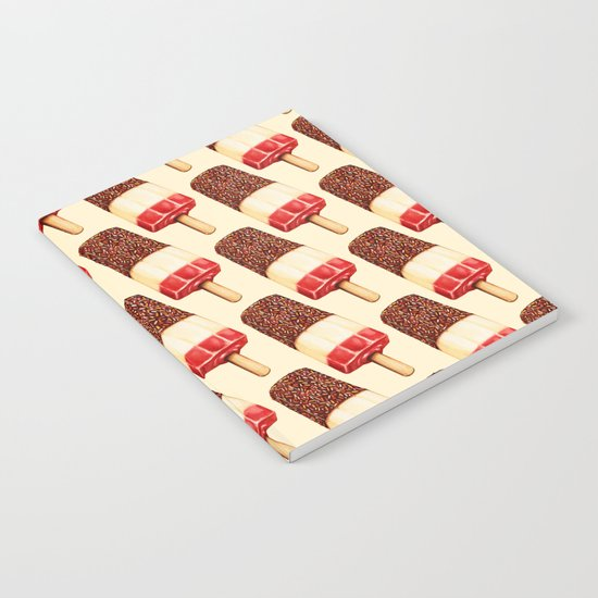 Ice Lolly Pattern - Fab Notebook