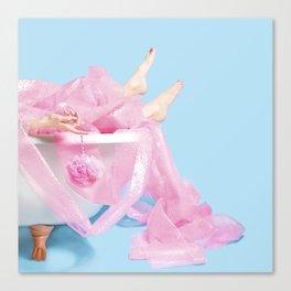 Bubble Wrap Bath Canvas Print