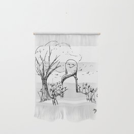 A Windy Day Wall Hanging