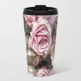Wine And Roses Travel Mug