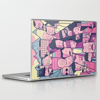 ale giorgini Laptop & iPad Skins featuring Grand Hotel by Ale Giorgini
