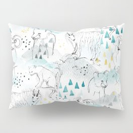 High in the Mountains Pillow Sham