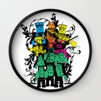 poker Wall Clocks featuring Poker Toys by elRAiSE