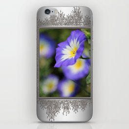 Morning Glory named Blue Ensign iPhone Skin