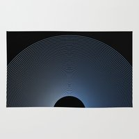 record Area & Throw Rugs featuring Record by Karolis Butenas