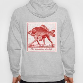 IF FISHES HAD LEGS (red) Hoody
