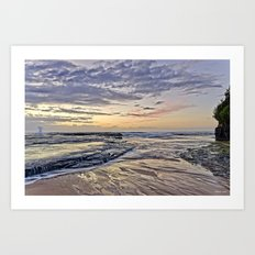 Life at Dawn Art Print