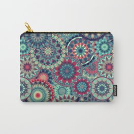 Mandala (Floral 001) Carry-All Pouch