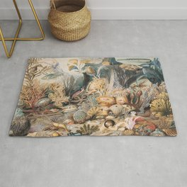 Ocean Life by James M. Sommerville Rug