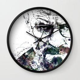 Bryan Cranston, Heisenberg, Breaking Bad Wall Clock