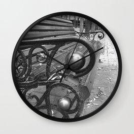 Vibrant city . Art object coupon , interiordecor . antique 7 Wall Clock