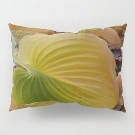 HOSTA LEAVES IN AUTUMN Pillow Sham