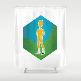 But I'm Confortable as... Shower Curtain