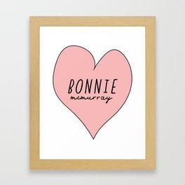 Bonnie McMurray Framed Art Print