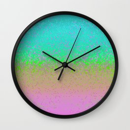 Glitter Star Dust G245 Wall Clock