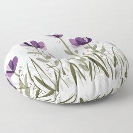 Flowers #3 Floor Pillow