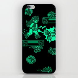 Metroid - Samus Aran iPhone Skin